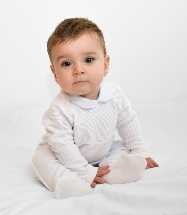 White Spanish Sleepsuit