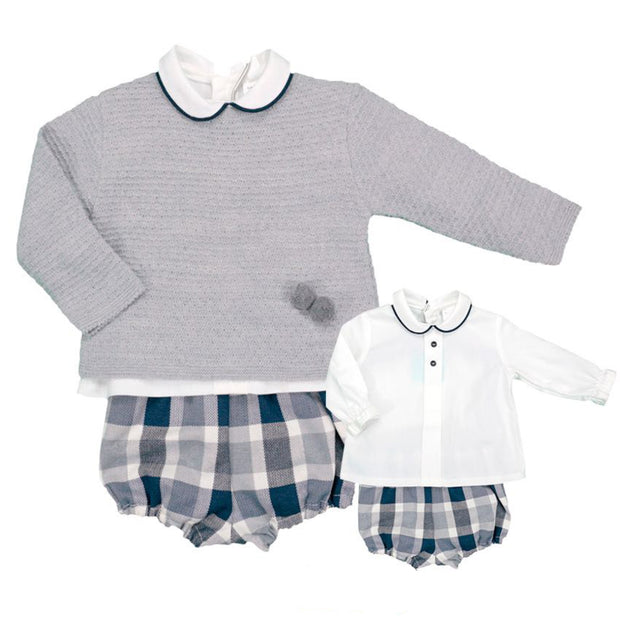 Baby Ferr Three Piece Long Sleeve Spanish Jam Pants Set