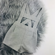 Grey  H Bar Shorts