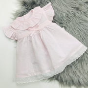 Pale Pink Dobbie Dress