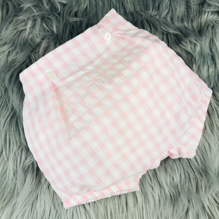 Pink & White Check Bloomers