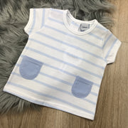 Baby Blue & White T-Shirt
