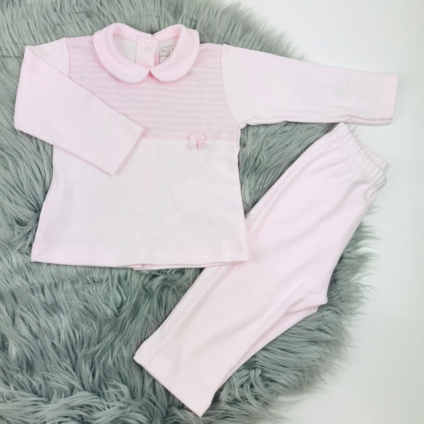 Baby Pink Top & Trouser Set