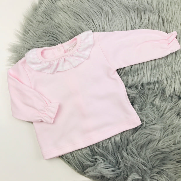 Baby Pink Top & Jam Pants Set