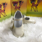 Beige Mary Jane Shoes