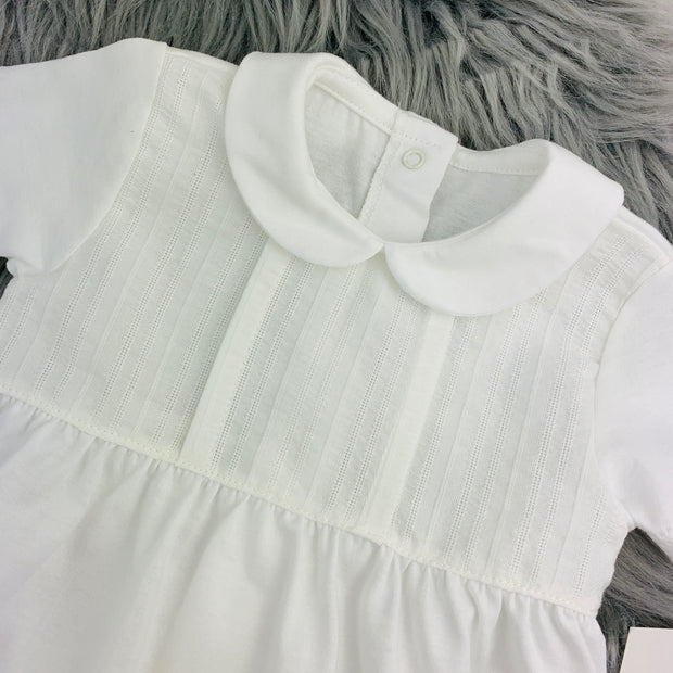 Ivory Spanish Romper Bodice Close