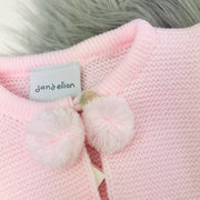 Baby Pink Knitted Pom Pom