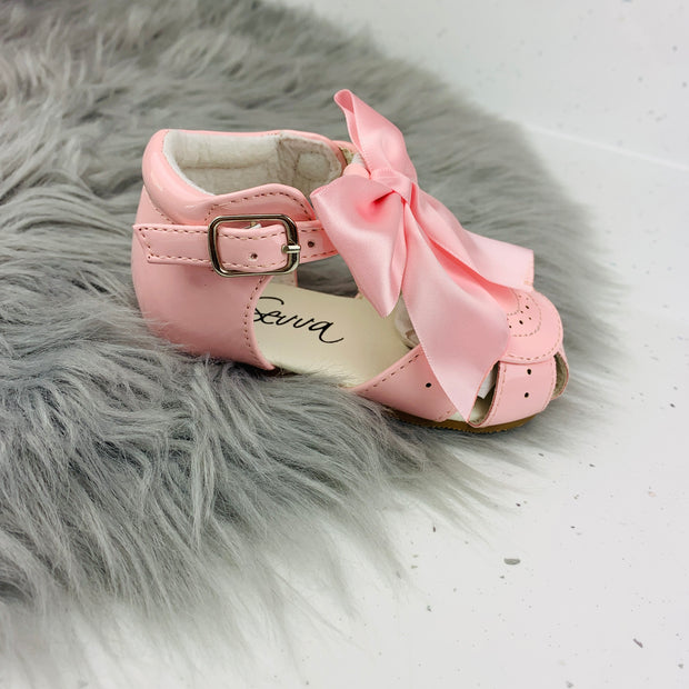 Pink Spanish 'Terri' Sandals Side