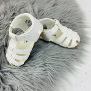 White Spanish 'Larry' Sandals