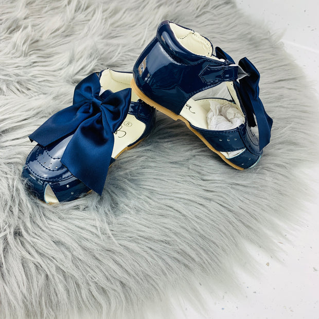 Navy Spanish 'Terri' Sandals