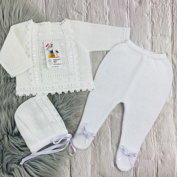 Unisex Knitted Three Piece Spanish Set
