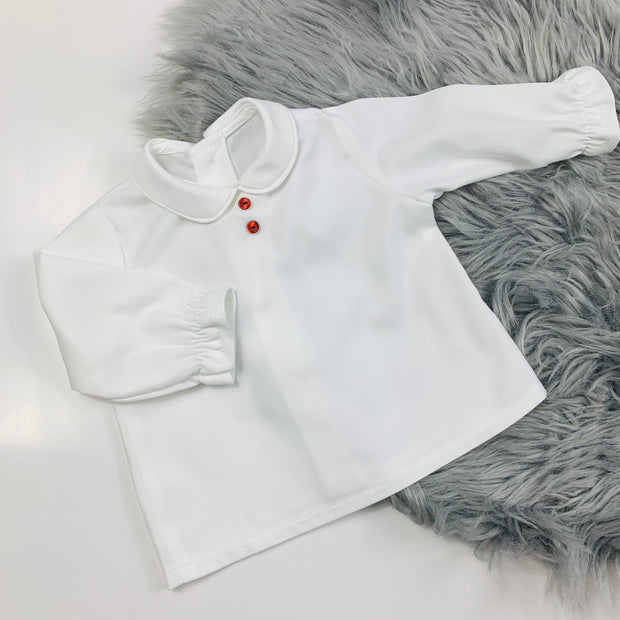 White Shirt Set
