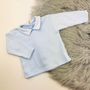 Baby Blue Top & Jam Pants Set