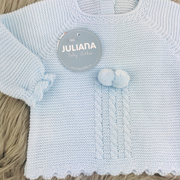 Baby blue Spanish set