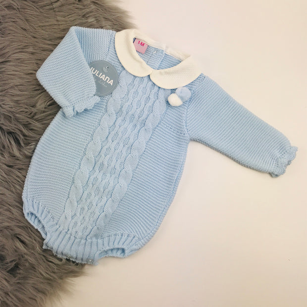 baby blue spanish romper