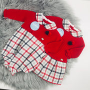 Matching Spanish dress and romper by Juliana