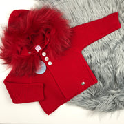 Red Knitted Spanish Coat