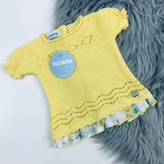 Yellow Knitted Top