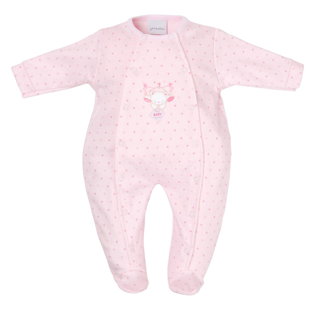 Baby Bear Star Printed Sleepsuit