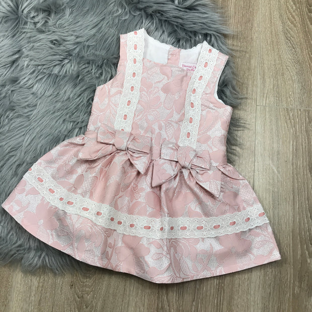Pink & Silver Spanish Dress