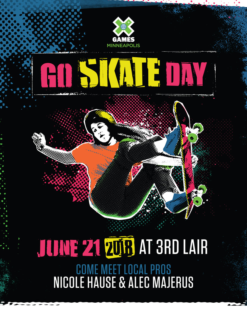 Go Skateboarding Day with X Games