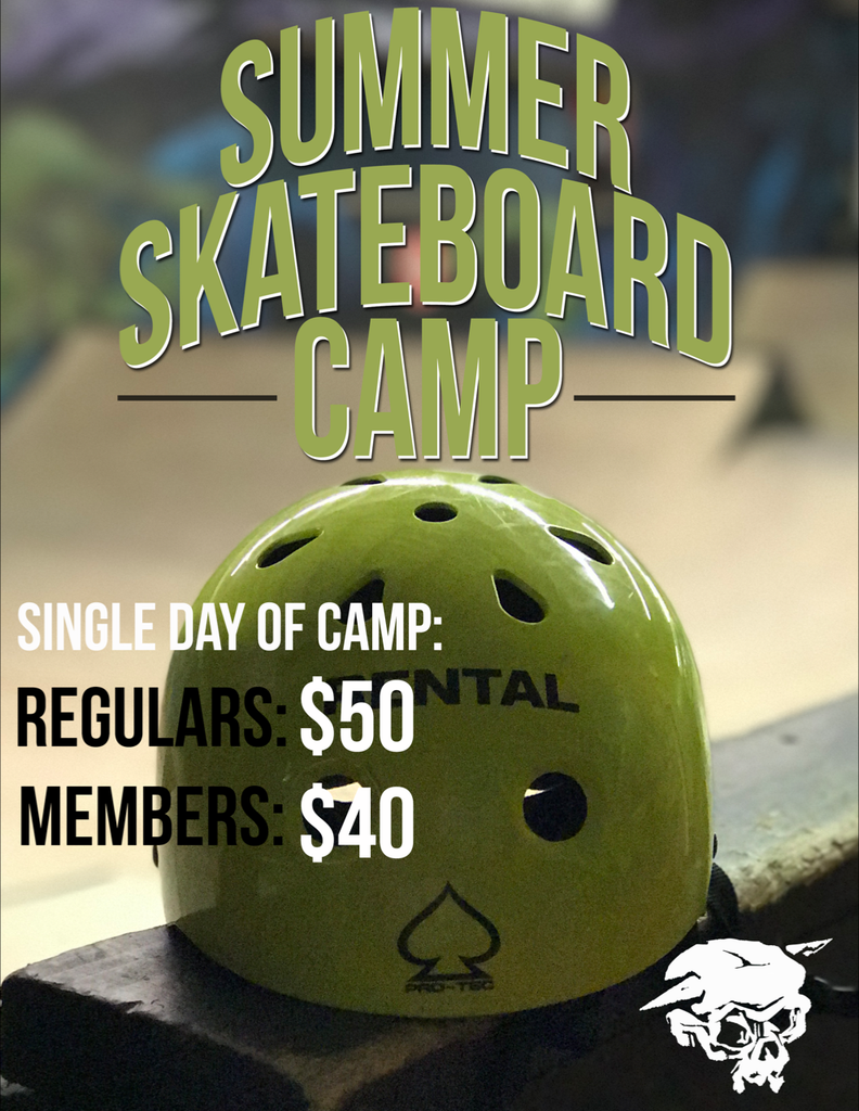 Sign up for Labor Day Skateboard Camp
