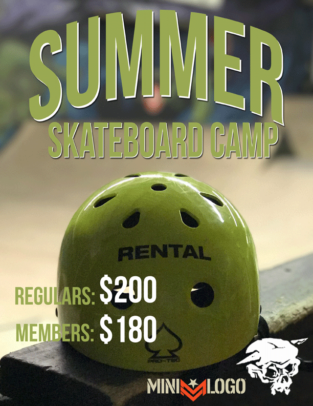 Summer Skateboard Camp Kicked off today!