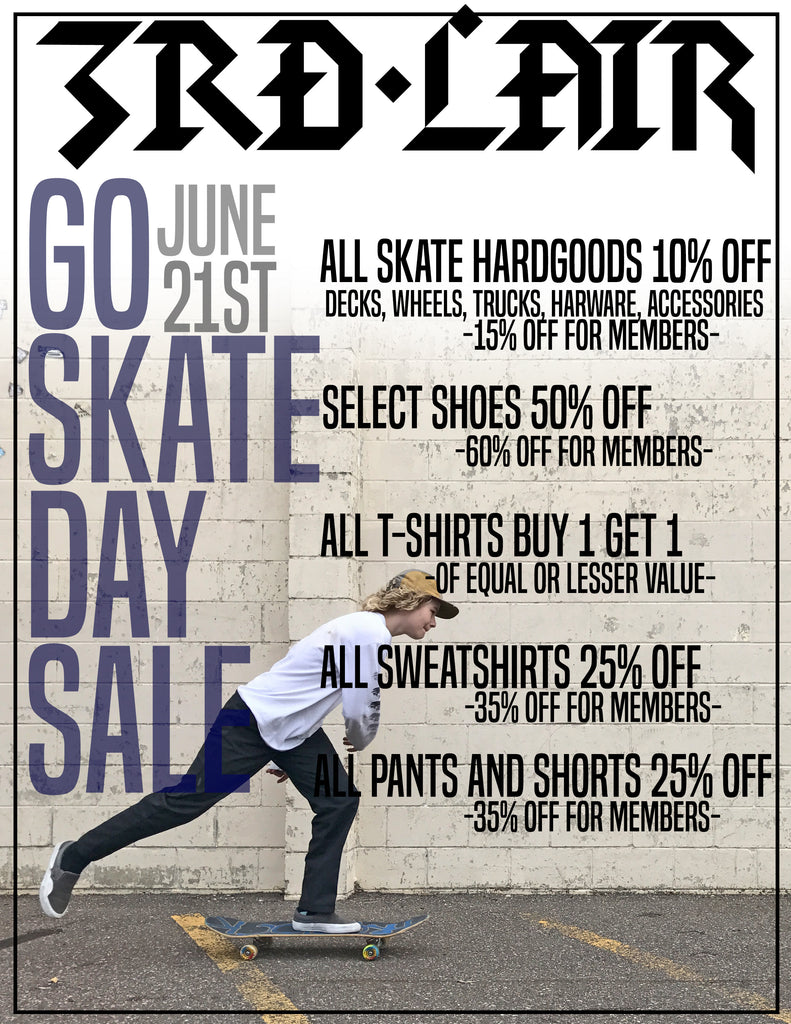 Huge Go Skateboarding Day Sale!