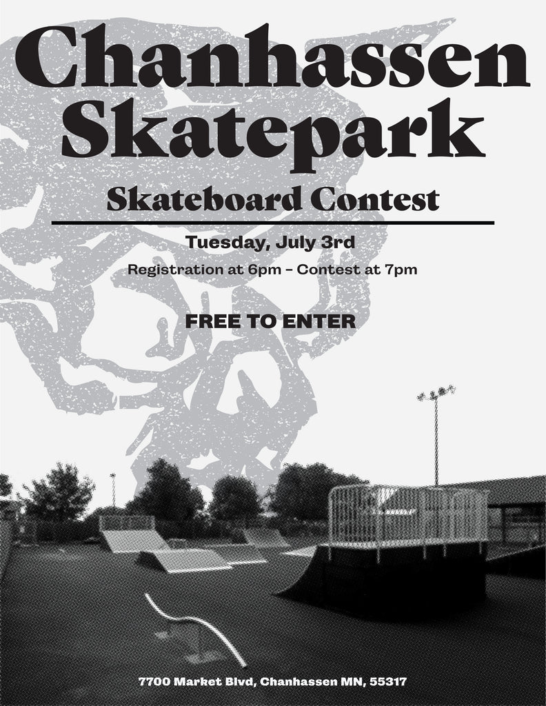 Free to enter Skateboard Contest - July 3, 2018