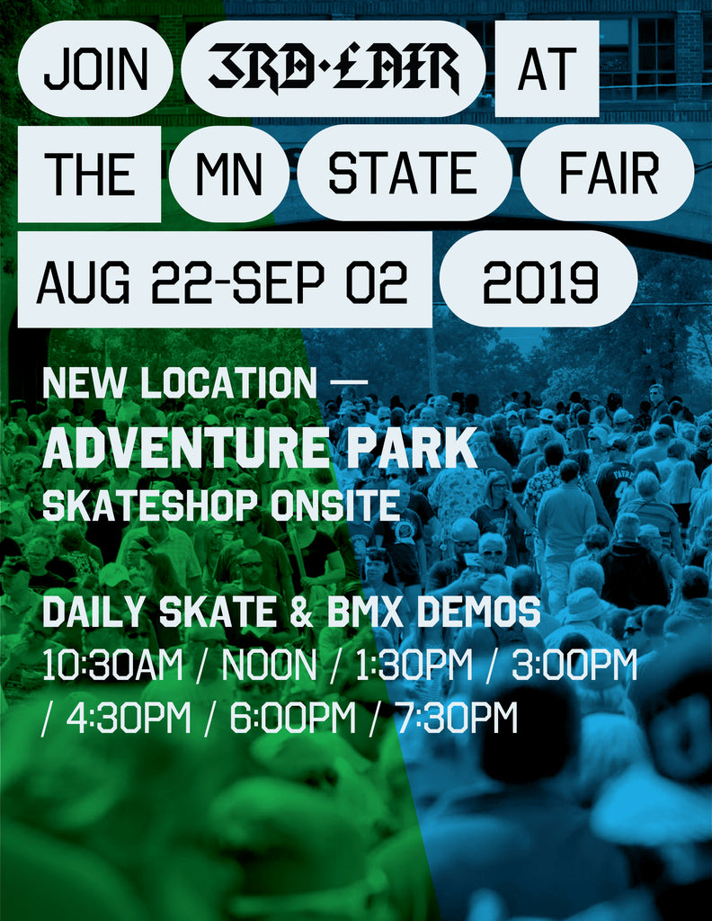Catch us at the 2019 MN State Fair Aug 22 - Sep 2, 2019