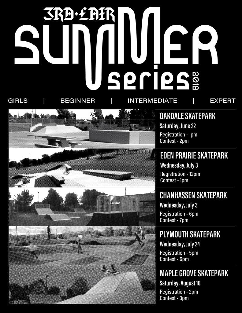 Summer Series Double Header Wed July 3, 2019