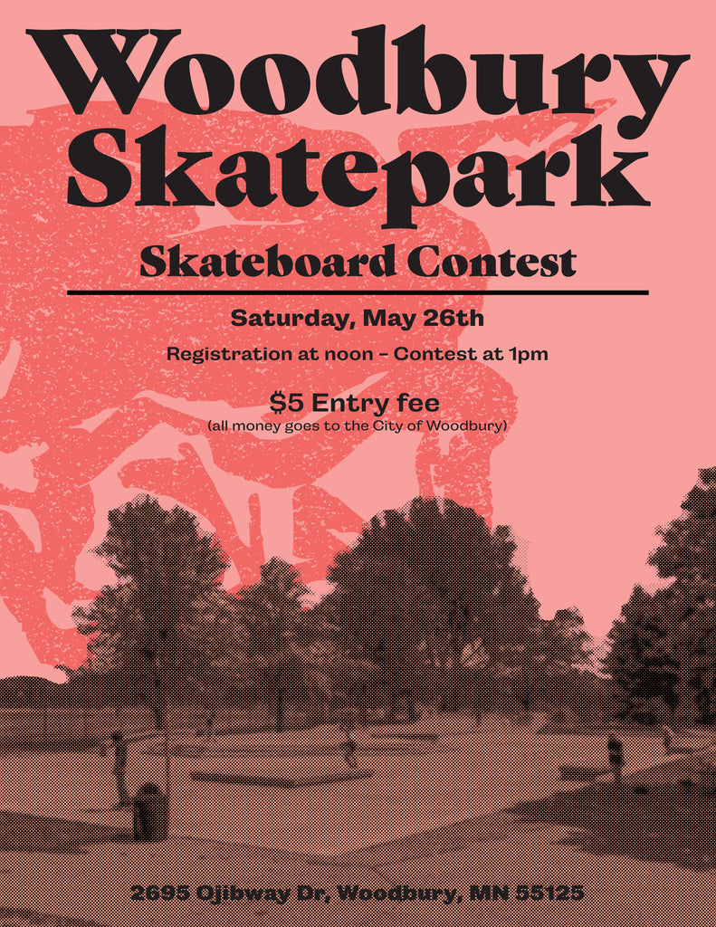 Skateboard Contest at Woodbury SkatePark - May 26, 2018