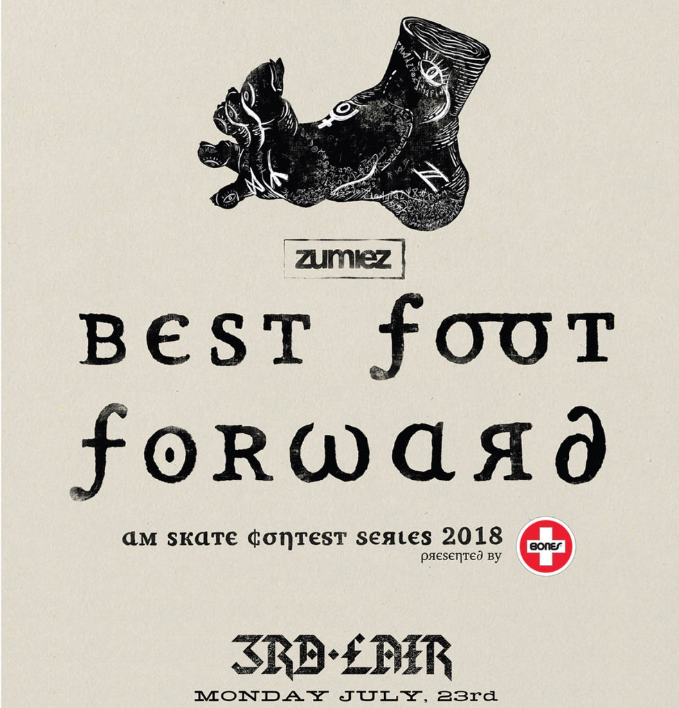 Zumiez Best Foot Forward today!