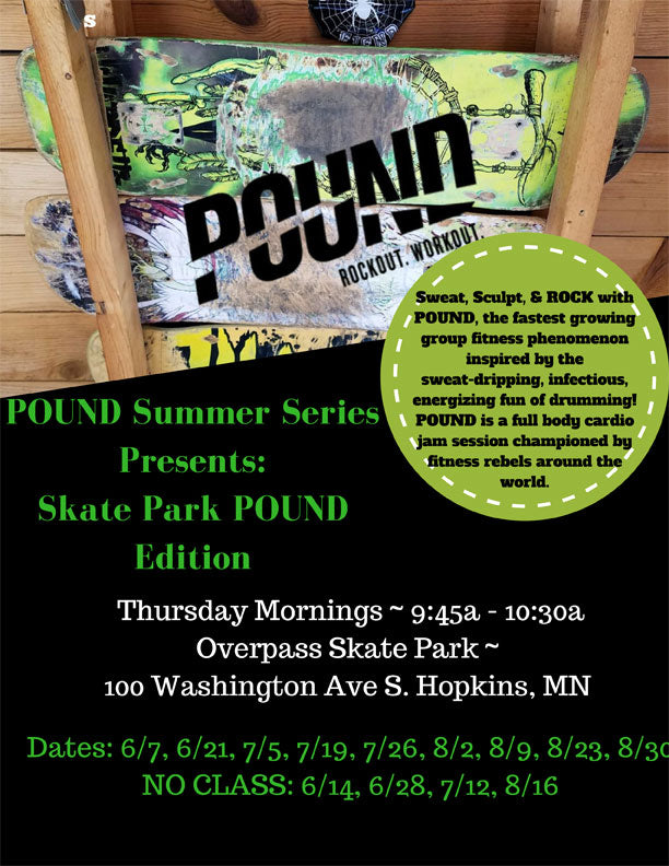 POUND Thursdays at Overpass starting June 7, 2018