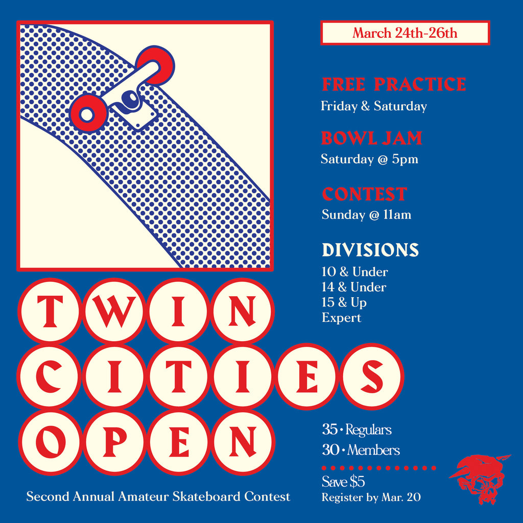 Twin Cities Open this weekend!
