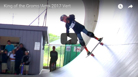King of the Groms Vert Jam