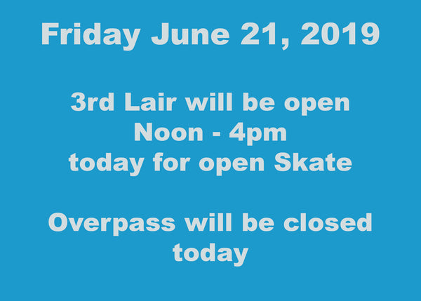 Friday June 21 - Go skateboarding Day