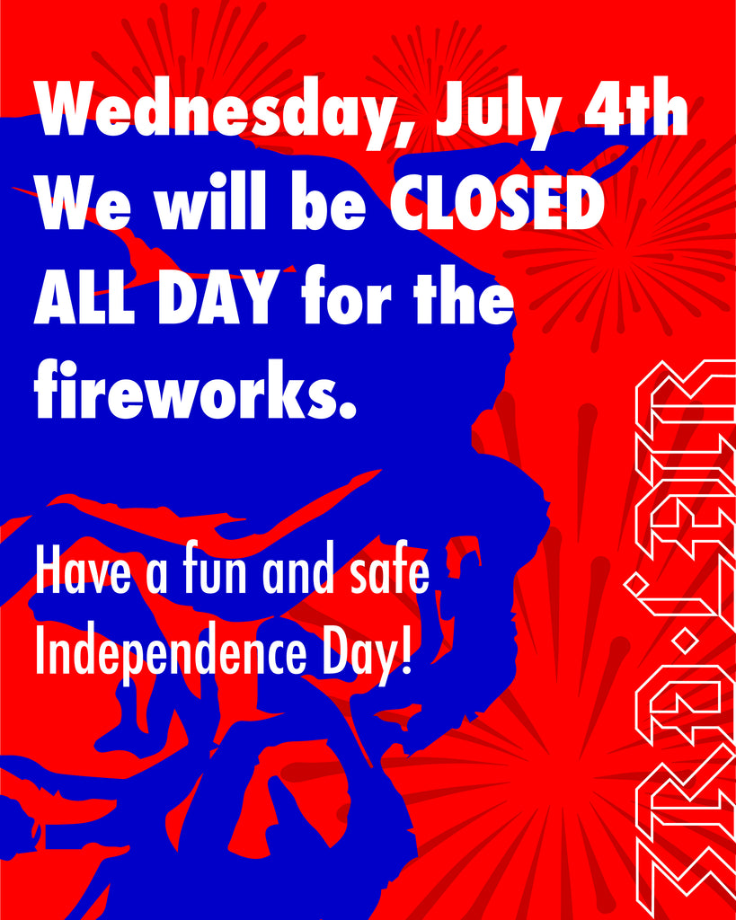 Closed on 4th of July