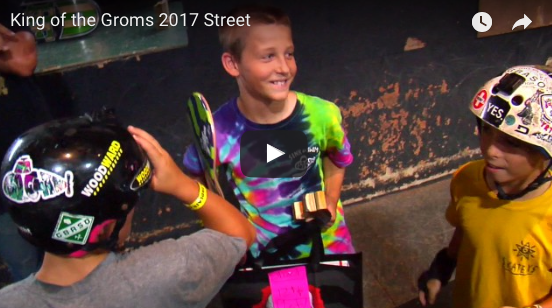 2017 King of the Groms Street Recap