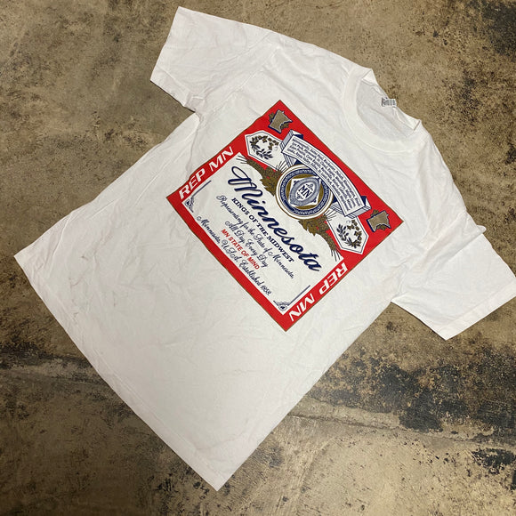 REP MN KINGS OF MIDWEST TEE (WHITE)