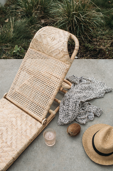 PRE-SALE // November delivery of Foldable Sun Bed - Woven net