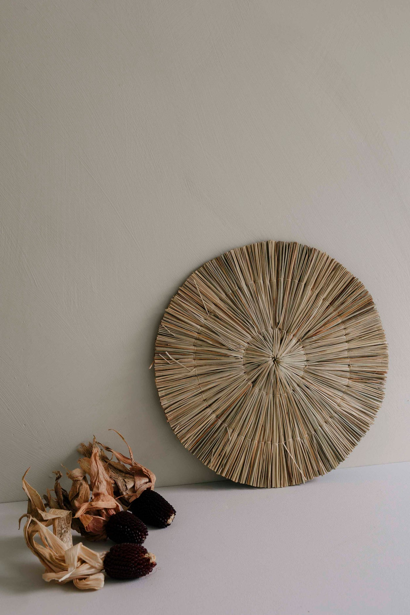Round Straw Decoration