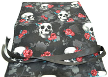 Load image into Gallery viewer, Pen Roll - Skulls and Roses