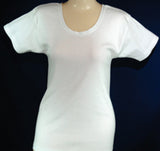 Short sleeves Undershirt, white only