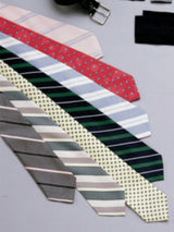 Neckties. Assorted patterns & colors.
