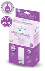 Ladies Reusable Incontinence Panties (6 Oz 12-Pack)
