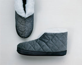 Men's Fleece Lined Slippers
