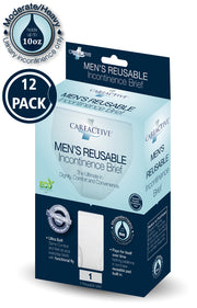 Men's Reusable Incontinence Brief (10 Oz 12-Pack)