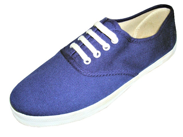 Men's Canvas Laced Oxfords