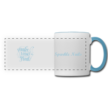 Load image into Gallery viewer, Sparkle Nails Coffee Mug - white/light blue